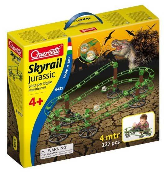 Stavebnice QUERCETTI Kuličková dráha Skyral Jurassic