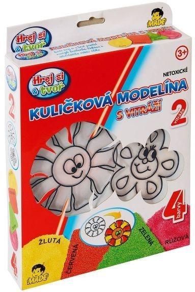 Hrej si & tvoř - Kuličková modelína: Sluníčko a květina