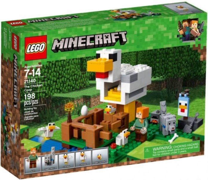 Stavebnice LEGO® Kurník 21140