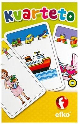 Dětské karty EFKO, Kvarteto - Baby
