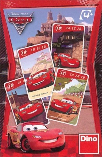 Dětské karty DINO, Kvarteto - Cars 2