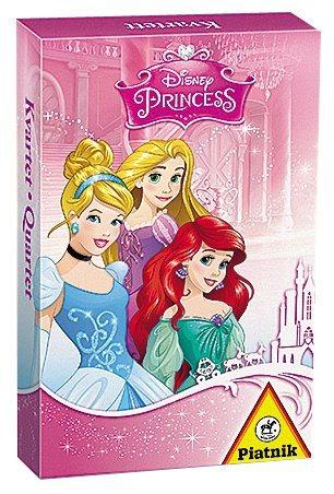 Dětské karty Kvarteto - Disney princezny, PIATNIK