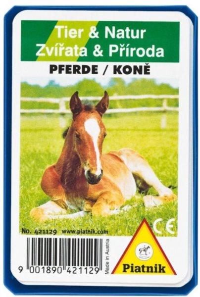 Dětské karty Kvarteto - Koně, PIATNIK