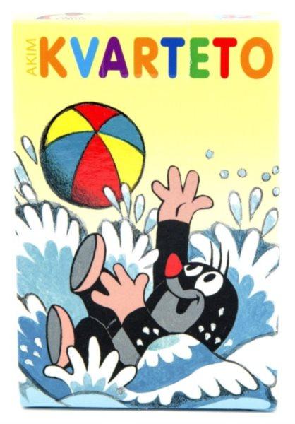 Dětské karty Kvarteto - Krtek