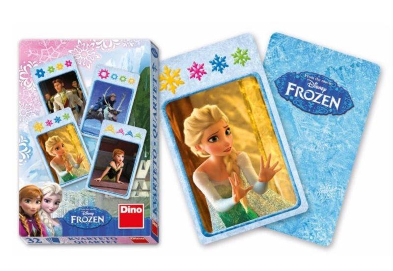 Dětské karty DINO, Kvarteto - Ledové království