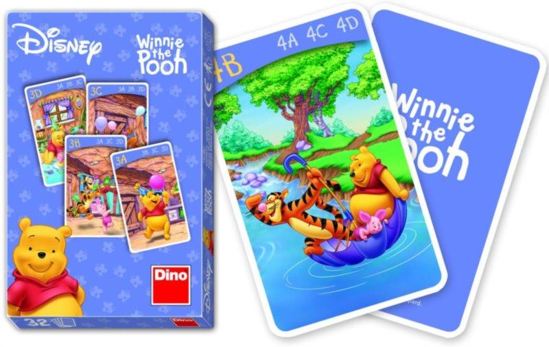 Dětské karty DINO, Kvarteto - Medvídek Pú