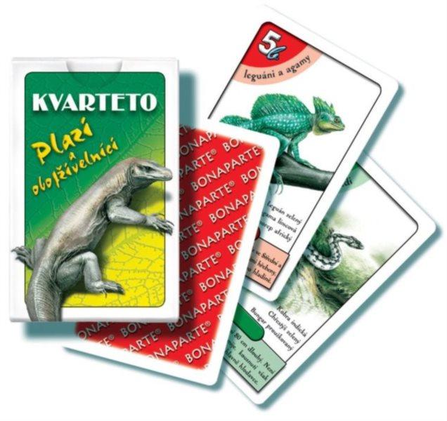 Dětské karty Kvarteto - Plazi a obojživelníci, Bonaparte