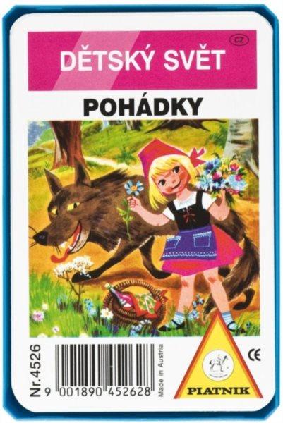 Dětské karty Kvarteto - Pohádky, PIATNIK