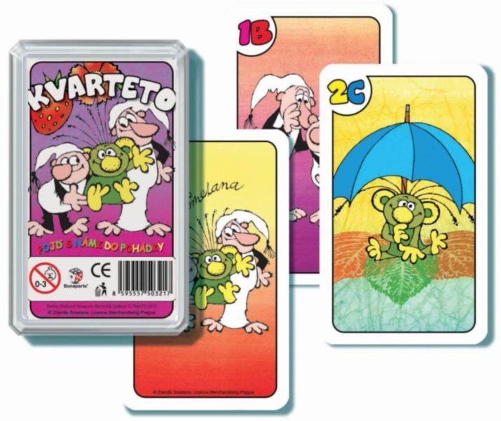 Dětské karty Kvarteto - Pojď s námi do pohádky, Bonaparte