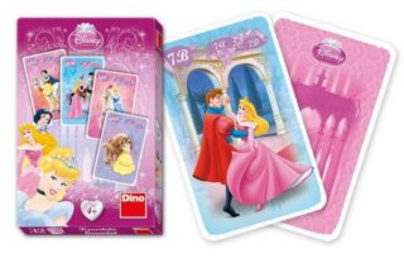 Dětské karty DINO, Kvarteto - Princezny