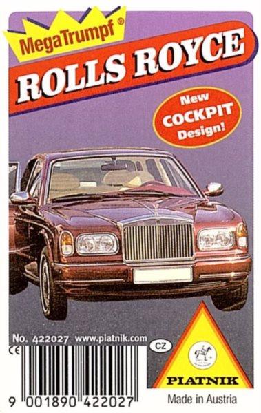 Dětské karty Kvarteto - Rolls Royce, PIATNIK