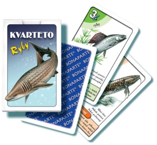 Dětské karty Kvarteto - Ryby, Bonaparte
