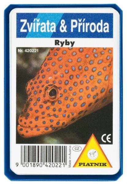 Dětské karty Kvarteto - Ryby, PIATNIK