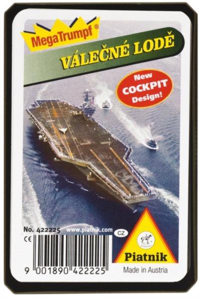 Dětské karty Kvarteto - Válečné lodě, PIATNIK