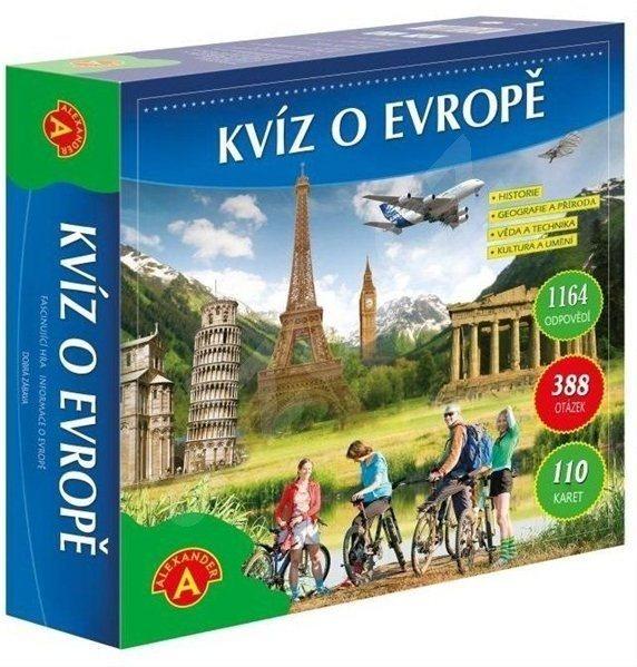 ALEXANDER Vzrušující hra Kvíz o Evropě