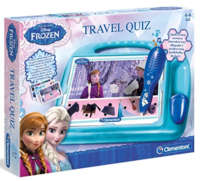 Interaktivní hra pro děti - Kvízy na cesty Ledové království