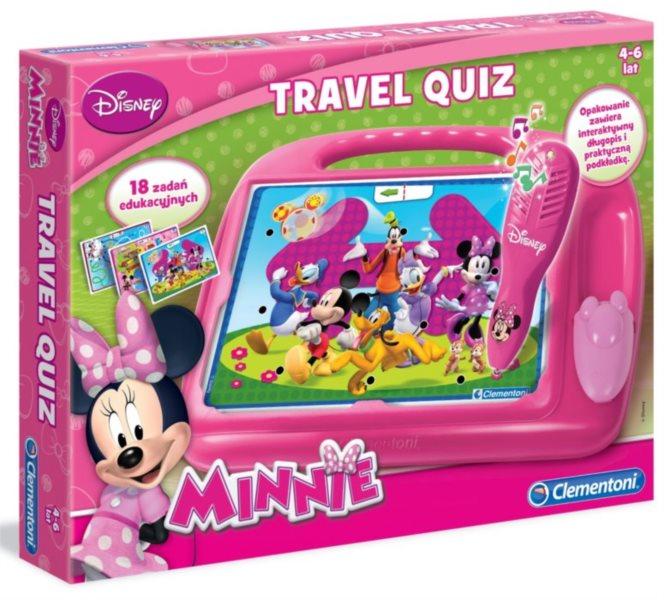 Interaktivní hra pro děti - Kvízy na cesty Minnie