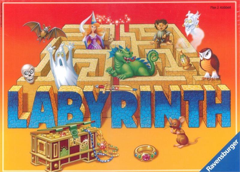 Společenská hra Labyrint: Bláznivé bludiště, RAVENSBURGER