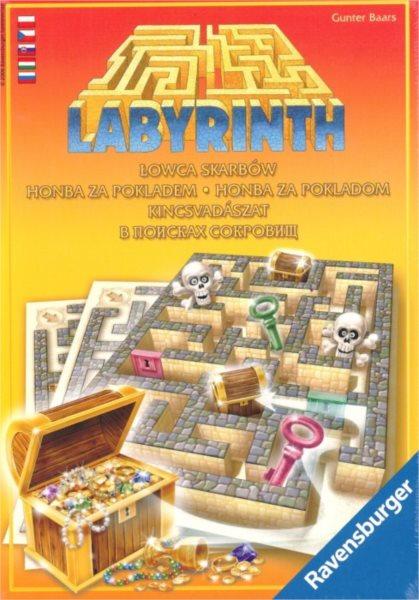 Společenská hra Labyrint: Honba za pokladem, RAVENSBURGER