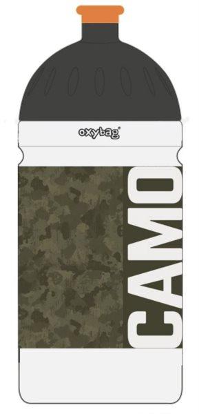 OXYBAG Láhev na pití Army 500 ml