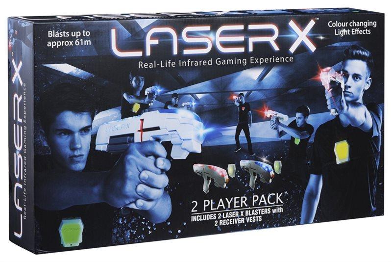 Laser-X pistole na infračervené paprsky – sada pro dva