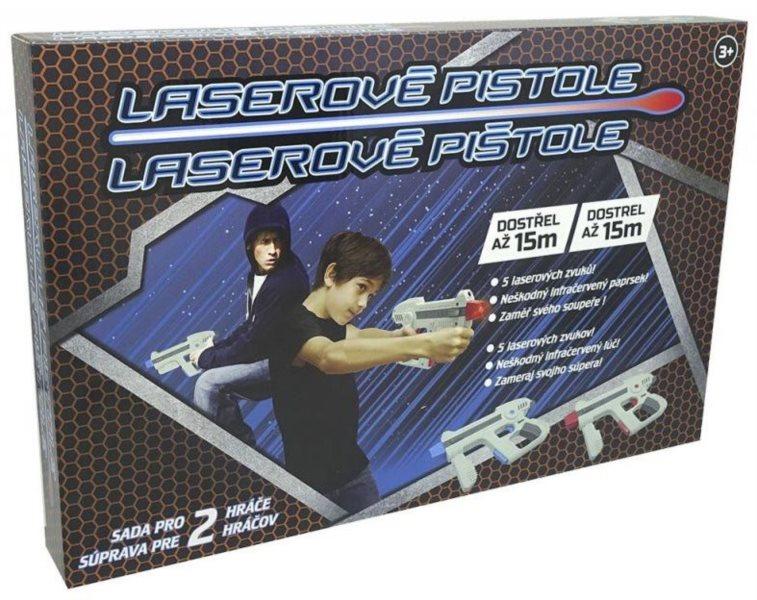 MAC TOYS Laserové pistole – sada pro dva