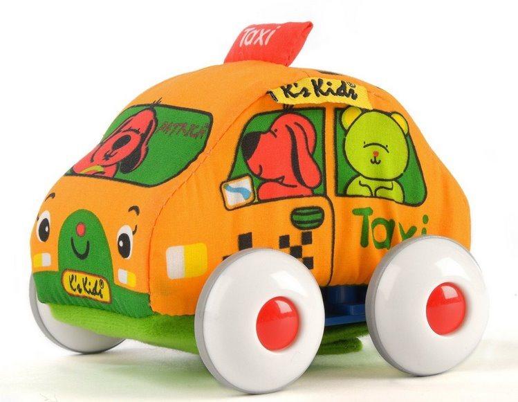 K´S KIDS, Látkové auto s natahovacím pohonem: Taxi