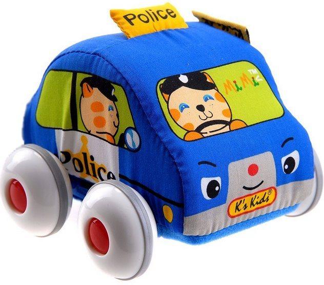 K´S KIDS, Látkové auto s natahovacím pohonem: Policie