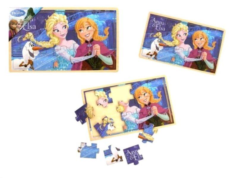 TOP BRIGHT Puzzle Ledové království: Anna a Elsa 15 dílků
