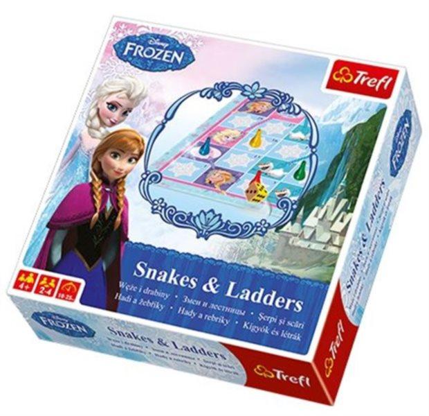 TREFL Hra Ledové království - Hadi a žebříky