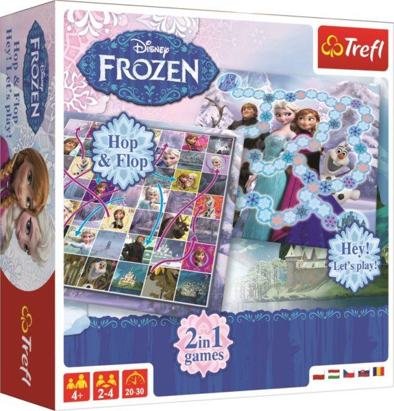 TREFL Hry Ledové království 2v1: Hop & Flop a Hey! Let's Play!