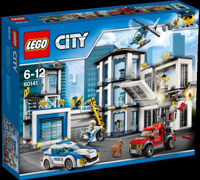 LEGO® City 60141 Policejní stanice