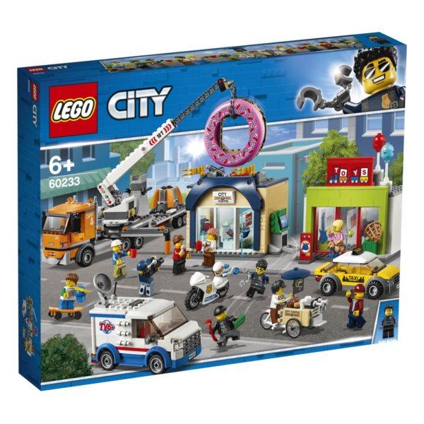 LEGO® City 60233 Otevření obchodu s koblihami