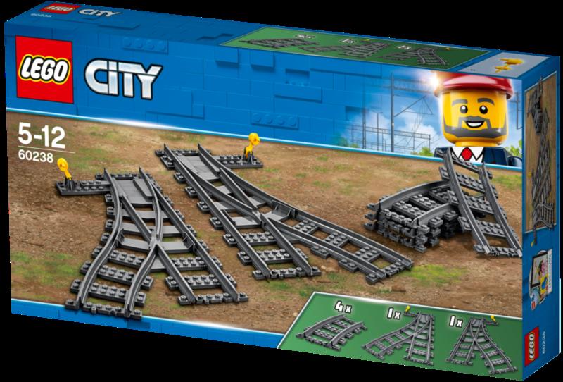 LEGO® City 60238 Výhybky