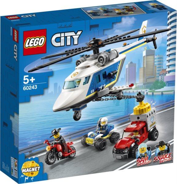 LEGO® City 60243 Pronásledování s policejní helikoptérou