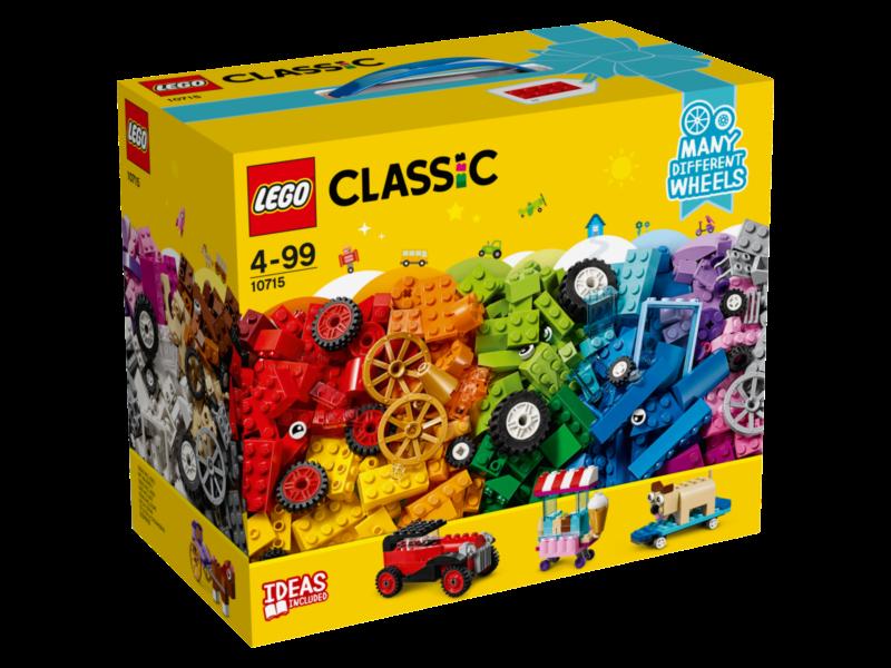 LEGO® Classic 10715 Kostky na kolečkách