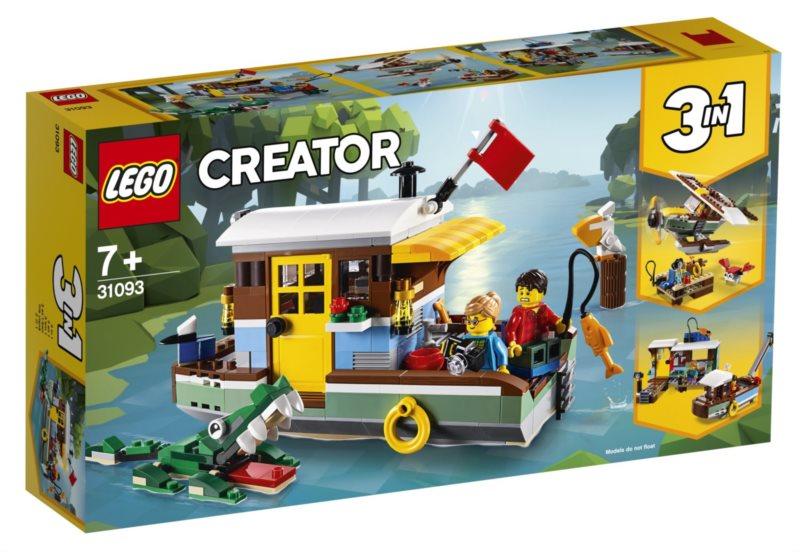 LEGO® Creator 31093 Říční hausbót
