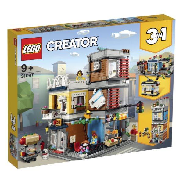 LEGO® Creator 31097 Zverimex s kavárnou
