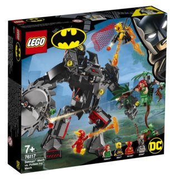 LEGO® DC Comics Super Heroes 76117 Souboj robotů Batmana a Poison Ivy™