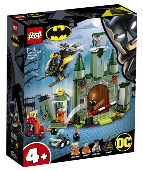 LEGO® DC Super Heroes 76138 Batman™ a útěk Jokera