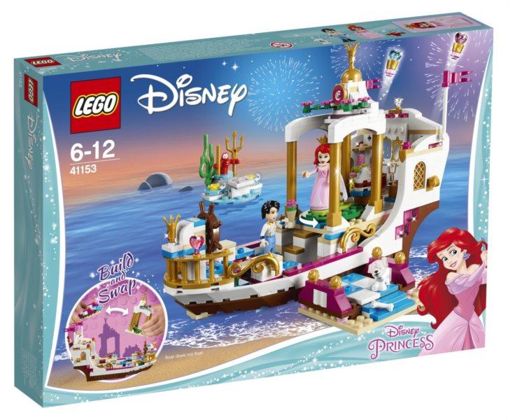 LEGO® Disney™ 41153 Arielin královský člun na oslavy
