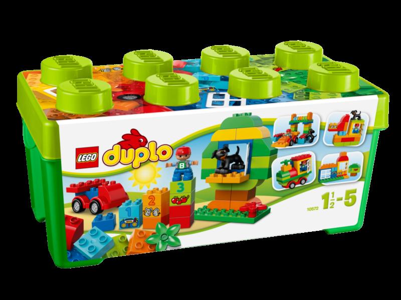 LEGO® DUPLO® 10572 Zelený box plný zábavy