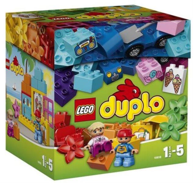 Stavebnice DUPLO® 10618 Kreativní box