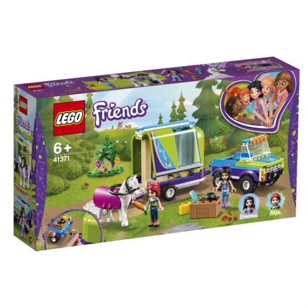 LEGO® Friends 41371 Mia a přívěs pro koně