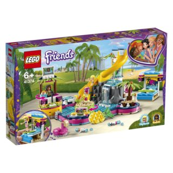 LEGO® Friends 41374 Andrea a párty u bazénu