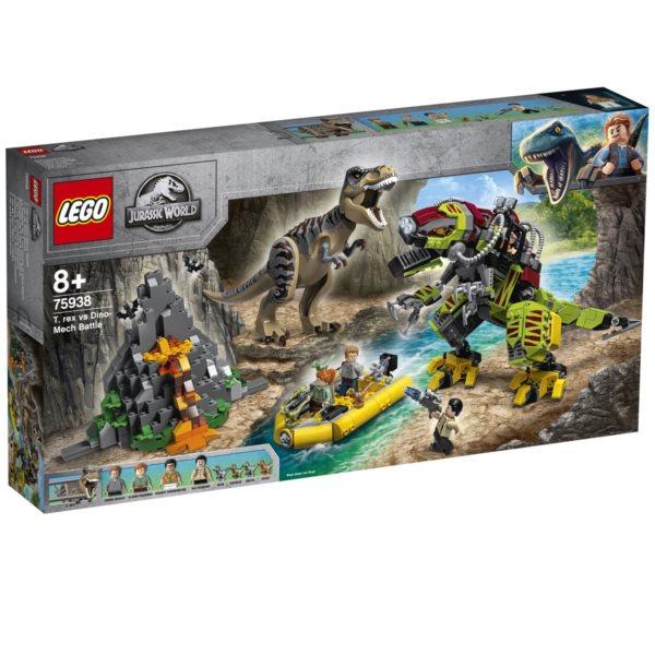 LEGO® Jurassic World 75938 T. rex vs. Dinorobot