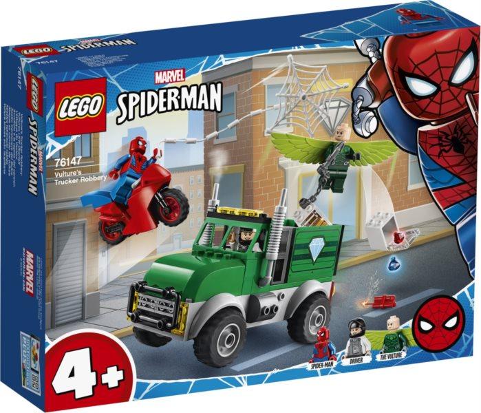 LEGO® Marvel Avengers 76147 Vulture a přepadení kamionu