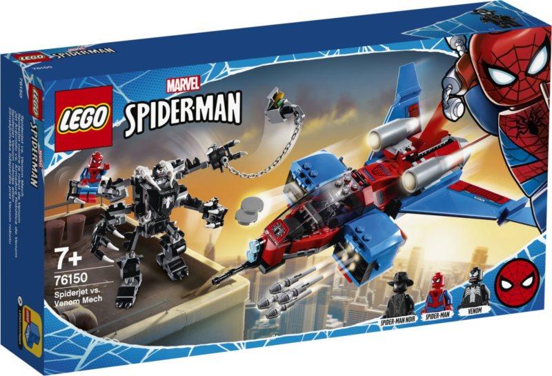 LEGO® Marvel Avengers 76150 Spiderjet vs. Venomův robot
