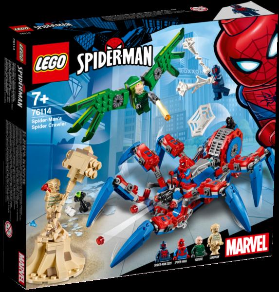 LEGO® Marvel Spider-Man 76114 Spider-Manův pavoukolez