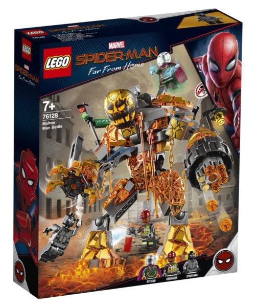 LEGO® Marvel Super Heroes 76128 Boj s Molten Manem
